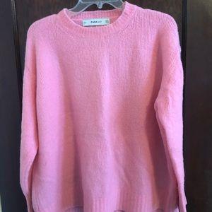Pink sweater from Zara